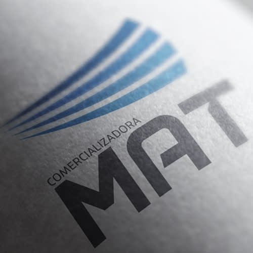 Logotipo Comercial Mat