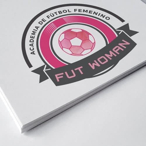 Logotipo Fut Woman