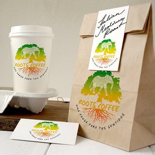 Logotipo Roots Coffee