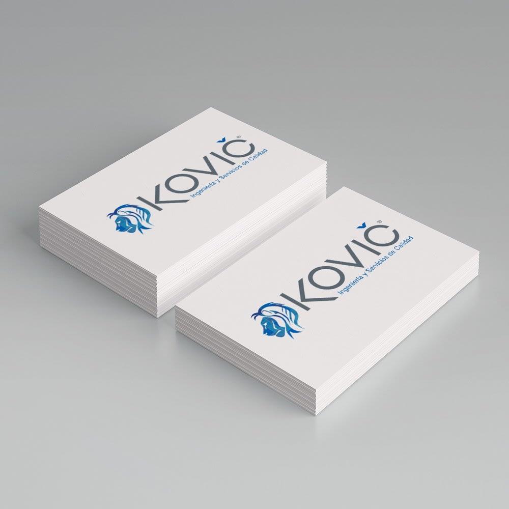 Diseño de logotipo para empresa Kovic