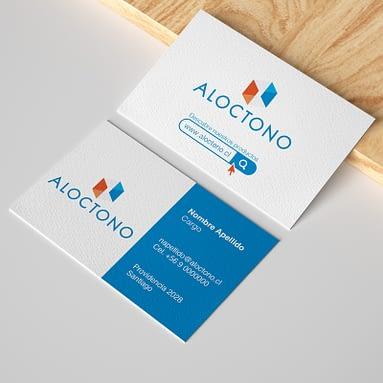 Logotipo Aloctono