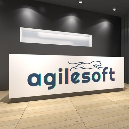 Diseño de Logotipo para empresa Agilesoft