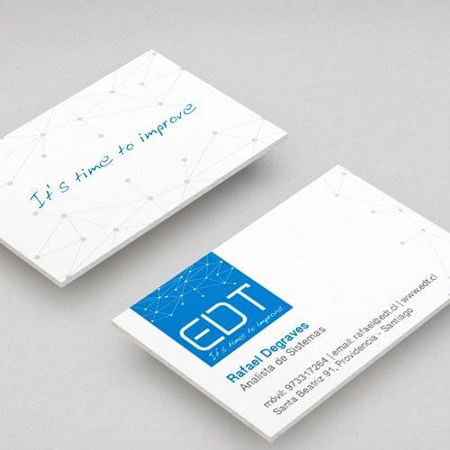 Diseño de logotipo para empresa EDT