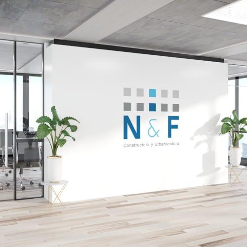 Diseño de Logotipo para empresa NF