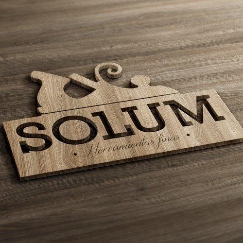 Diseño de logotipo para empresa Solum