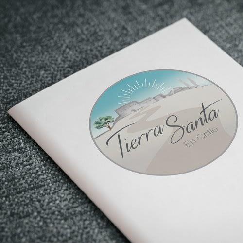 Diseño de logotipo para empresa Tierra Santa
