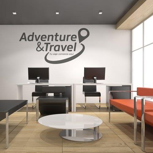 Diseño de logotipo para empresa Adventure & Travel