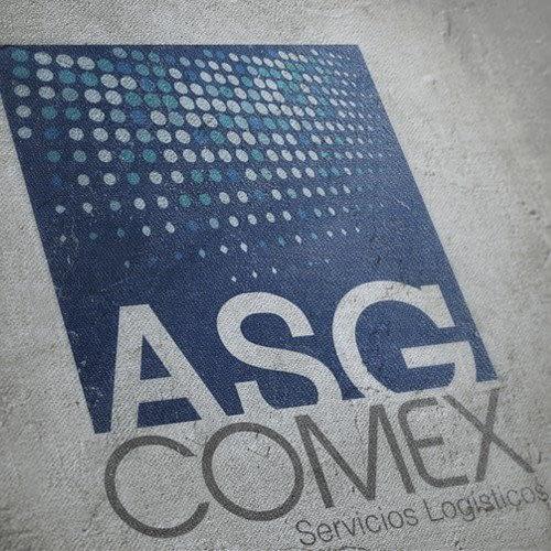 Diseño de logotipo para empresa ASG Comex