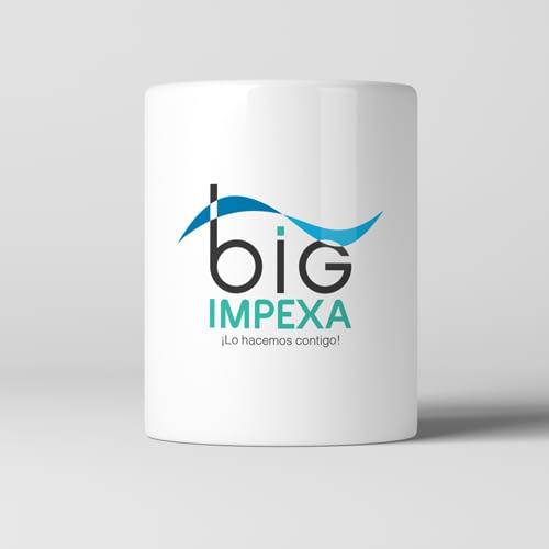 Diseño de Logotipo para empresa Big Impexa