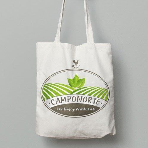 Diseño de logotipo para empresa Camponorte