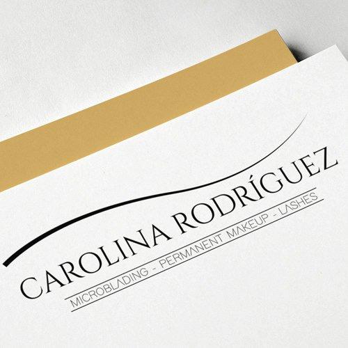 Diseño de logotipo para empresa Carolina Rodriguez