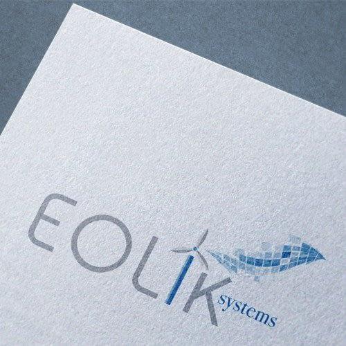 Diseño de logotipo para empresa Eolik