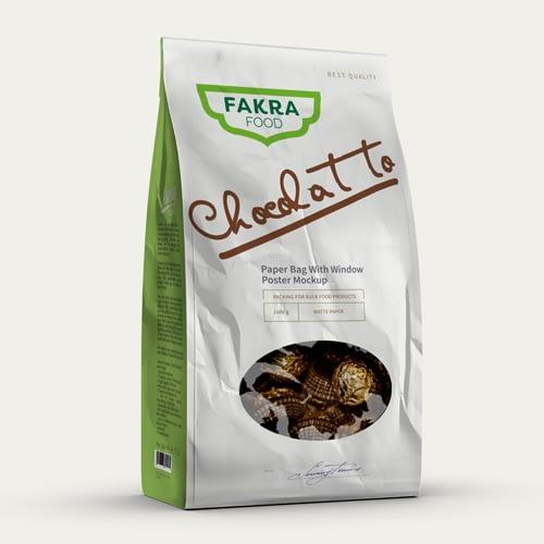 Diseño de Logotipo para empresa Fakra Food