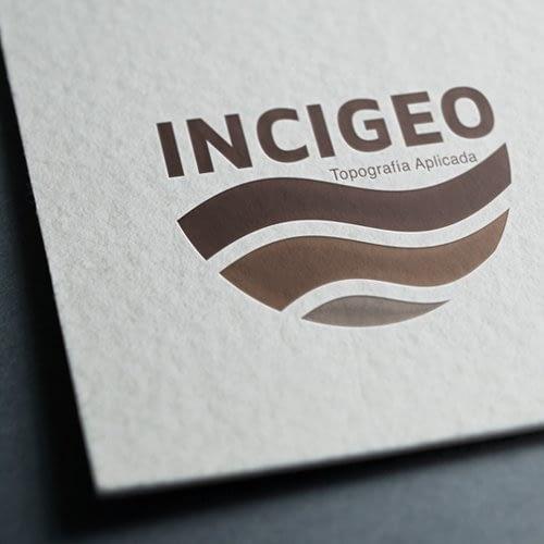Diseño de logotipo para empresa Incigeo