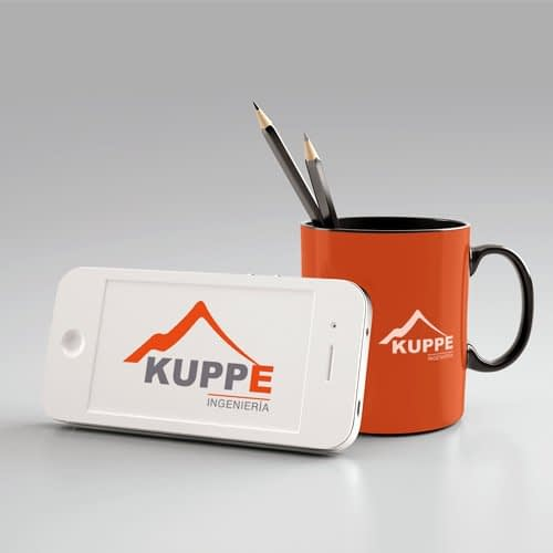 Diseño de logotipo para empresa Kuppe