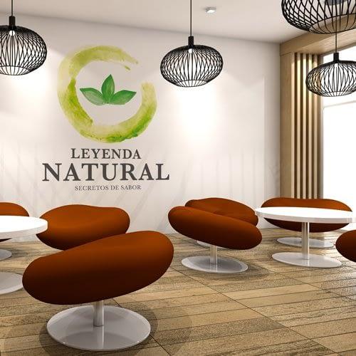 Diseño de logotipo para empresa Leyenda Natural