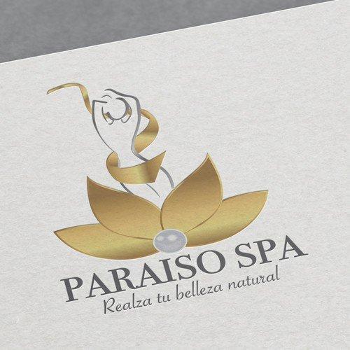 Diseño de logotipo para empresa Paraíso Spa