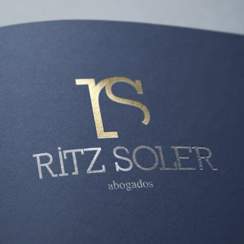 Diseño de logotipo para empresa Ritz Soler