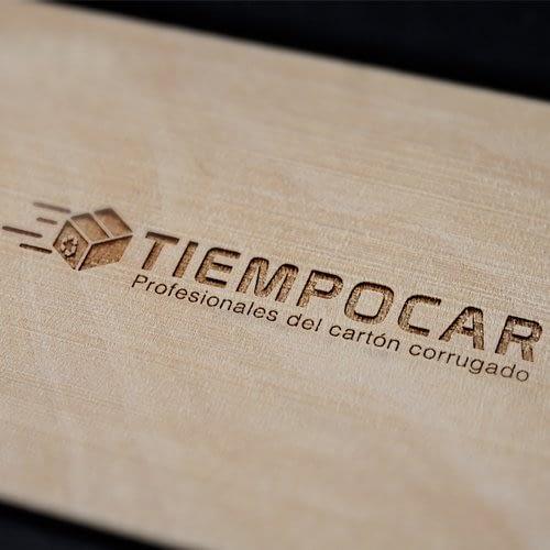 Diseño de Logotipo para empresa Tiempocar