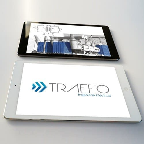 Diseño de logotipo para empresa Traffo