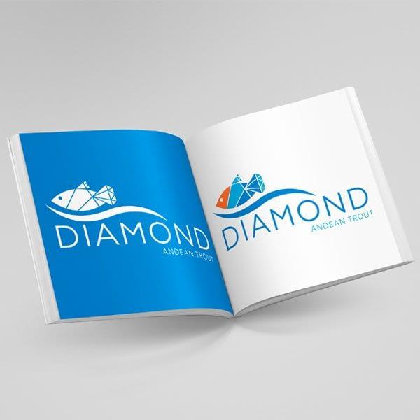 Diseño de Logotipo para empresa Diamond