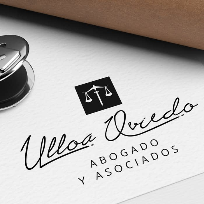 Diseño de Logotipo para empresa Ulloa Oviedo