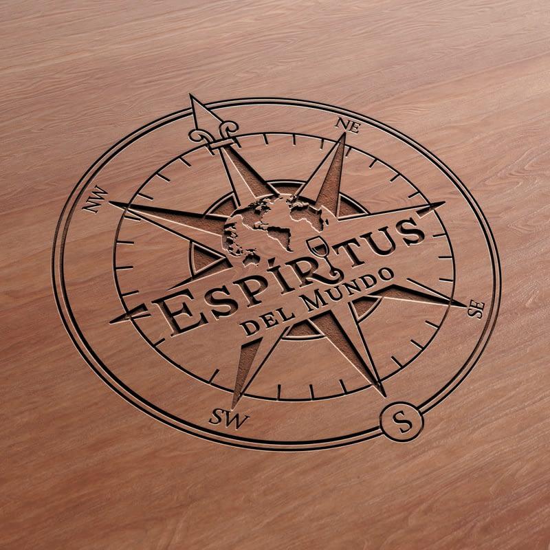 Diseño de Logotipo para empresa Espíritus del Mundo