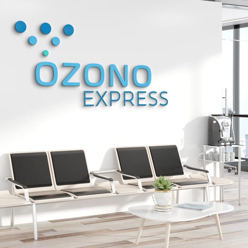 Diseño de Logotipo para empresa Ozono Express