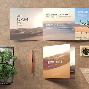 Diseño de folletos, revistas y catálogos